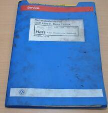 VW Golf 4 IV Bora 4 Zylinder Dieselmotor    Werkstatthandbuch Leitfaden