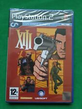XIII PS2 NEW PAL IT NUEVO RARE ITALIANO