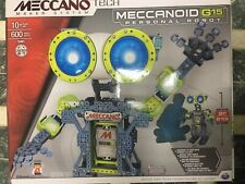 Meccano MeccaNoid G15 Personal Robot Build & Play 600 Pieces 15401