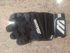 VINTAGE Mizuno Techfire Pro Batting Glove Adult Men's Large left Hand Used RARE