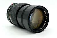 CANON 135mm f/2.8 Manual Focus FD-Mount Prime Lens