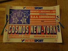 Cosmos New-York - Affiche match de gala RAA Louvièroise - Cosmos 02/11/1980