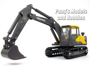 3 Inch Volvo EC140E (EC140) Hydraulic Excavator Scale Diecast & Plastic Model