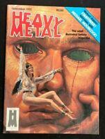 HEAVY METAL MAGAZINE - Nov 1982 - Ayers / Caldwell / Corben / Druillet / Bilal