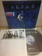 Alias - Alias 1990 Korea LP Vinyl Insert No Barcode Sheriff Heart AOR [NM]
