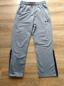 GUC Boys 2.0 Under Armour L Brawler Athletic Pants Gray with Black Size Large