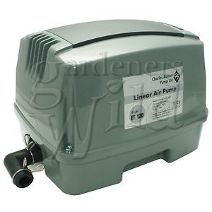 ET120 AIR PUMP Charles Austen ENVIRO Hailea koi pond hydroponic sewage treatment