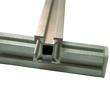 Aluminium Section Extruded Square Profile, 2 Pcs 20X20X500 MM