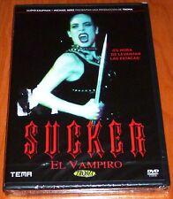 SUCKER EL VAMPIRO / Sucker The Vampire - English Español -DVD R2- Precintada