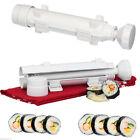 Chef Sushi Roll Maker Bazooka Making Kit Mold Sushezi Rice Fish Roller Japanese