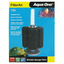 Aqua One FilterAir Aquarium Fry Small Fish Tank Biochemical Sponge Filters 136