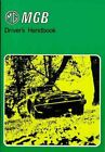 NEW MG MGB Driver's Handbook by Brooklands Books Ltd Paperback Book (English) Fr