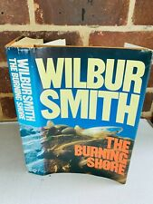More details for wilbur smith the burning shore signed edition 1965