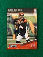 2018 Panini Playoff Base #38 Andy Dalton - Cincinnati Bengals
