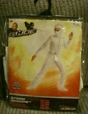 NEW G.I. Joe Retaliation Storm Shadow White Costume Child Medium 7 - 8 Disguise