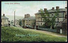 1905 County Hotel Rothbury Postcard A702