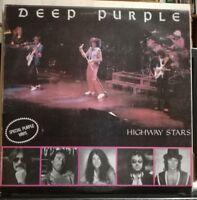 DEEP PURPLE-HIGHWAY STAR-2 LP LIVE AUSTRALIA 84 - doppio vinile 33 giri viola