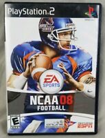 NCAA Football 08 Sony PlayStation 2 complete with manual