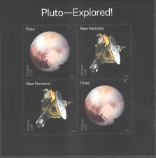 US SOLAR SYSTEM 2016 PLUTO - EXPLORED 4 FOREVER STAMP MINI SHEET NEW IN WRAPPER