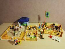 PLAYMOBIL Ferme haras esquestre ranch ( animaux, enclos, personnage )