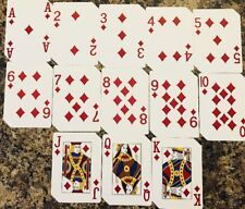 Red Rock Las Vegas Casino Playing Cards, Diamond Suit ONLY (13-Cards)