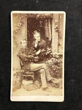 Victorian Carte De Visite CDV: Family: Weiner: Dublin: Studio Window