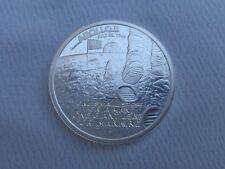 1 oz. Apollo 11 Moon Landing JFK  art round .999 fine silver