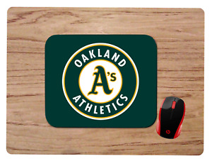 OAKLAND ATHLETICS A'S MOUSEPAD MOUSE PAD HOME OFFICE GIFT MLB