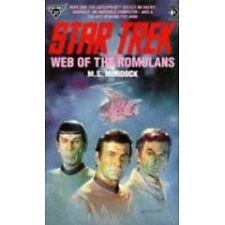 Star Trek: Web of the Romulans. PB. 1989. gc.