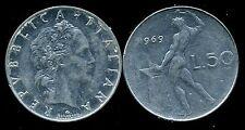 ITALIE   ITALY   50 lire 1969