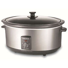 Morphy Richards 48718 Slow Cooker - Stainless Steel