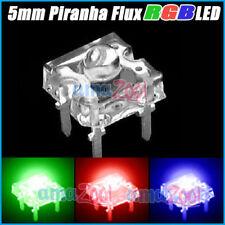 20PC 5mm 8000MCD Piranha Super Flux  RGB Wide Angle LED