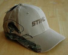 "Stihl Wildlife Series ""Fish"" Beige Hat / Cap Adjustable"