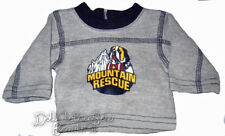 Saint Bernard Dog T-Shirt for Bitty Baby Boy Twin Doll Clothes Mountain Rescue