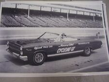 1966 MERCURY COMET CYCLONE GT INDY 500 PACE CAR  12 X 18 LARGE PICTURE / PHOTO