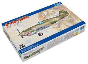 Trumpeter 9365807 Curtis P-40 H-81A-2 (AVG) 1:48 Jagdflugzeug Modellbausatz