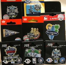9197a2894f9e SET OF 8 2016 ALL STAR GAME COLLECTORS PINS SAN DIEGO PADRES