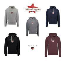 Gant Shield Hoodie Herren Kapuzenpullover Pullover Sweatshirt