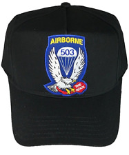 US ARMY 503RD AIRBORNE INFANTRY REGIMENT INF RGT HAT PARACHUTE THE ROCK PIR AIR