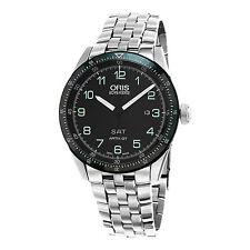 Oris Men's Artix Limited Edition Black Dial Swiss Automatic Watch 73577064494SET