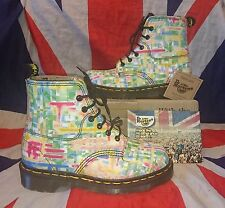 BNIB England Vintage*Abstract Pastel Dr Doc Martens*Kitsch Kawaii Unique Punk*4