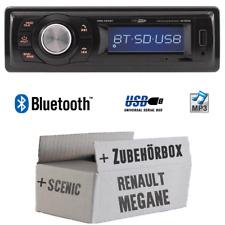 Caliber Autoradio für Renault Megane & Scenic 2 Bluetooth/MP3/USB Auto Einbauset