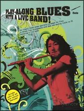 Play-Along Blues with a Live Band Flute Music Book & Backing Tracks CD