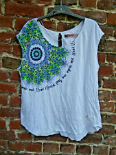 TEE SHIRT  DESIGUAL TAILLE L