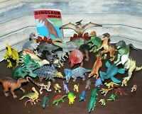 Lot Of 42 VTG Realistic Toy Dinosaurs, Different Brands INCL Safari Imperial