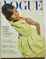 1964 Dior VOGUE 60s vintage fashion Bailey GRES couture Barbara Hulanicki