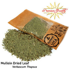 100% Mullein Leaf Herb Dried Cut Leaves Herbal Tea Tincture Infusion Smoking