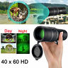 Day Night Vision 40X60 HD Hunting Binoculars Optical Telescope Handheld Scope US