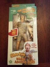 More details for steve irwin doll collectible talking action figure - the crocodile hunter