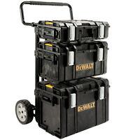 DeWalt Tough Case Tool Box Storage System Trolley set DeWalt Tough Syst